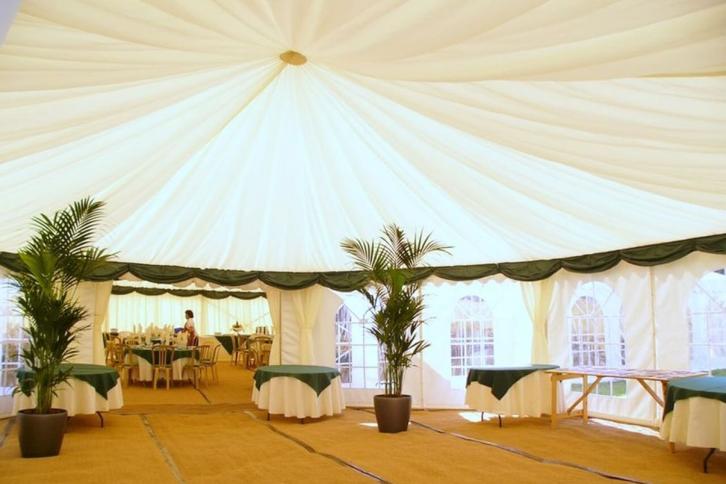 Marquee Linings | Bespoke Structures & Blackout Lining